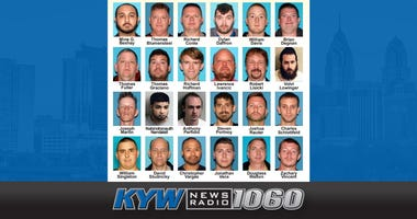Two dozen men have been arrested and charged in a child sex predator sting operation.