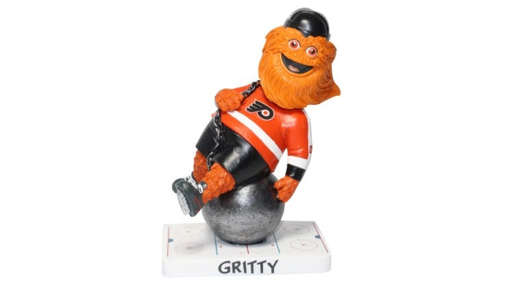 Kollectico, a Long Island-based custom bobblehead manufacturer, has unveiled its special edition Gritty bobbleheads.