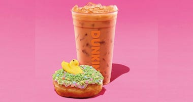 Dunkin' Peeps menu items