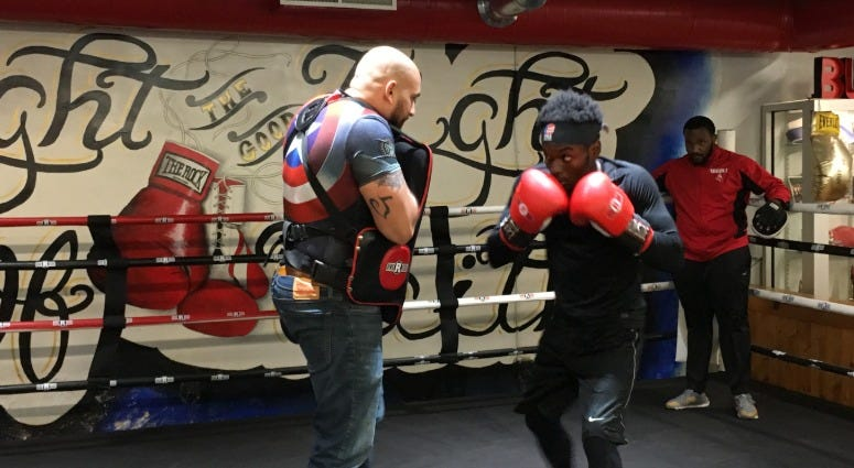 Rock Ministries has been a life-changer for Tyhler Williams, who will make his professional boxing debut at The Met Philadelphia.