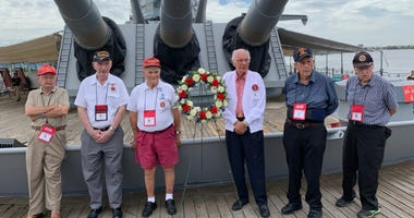 World War II Marines reunite