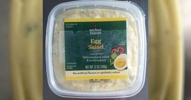 Egg salad recall