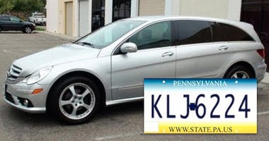 Police are searching for the vehicle involved in a car-jacking — a silver, 2006 Mercedes R350. The license plate tag isKLJ-6224.