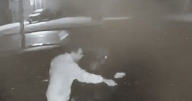 This car vandal who has been targeting people based on the condition of their lawns