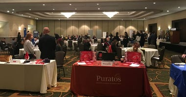 Camden County and the Chamber of Commerce of Southern New Jersey co-hosted a jobs fair for veterans.