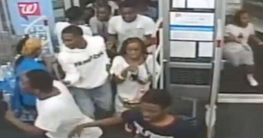 A group of about 60 teenagers rushed into a Walgreens at 18th and South streets to ransack and loot the store.