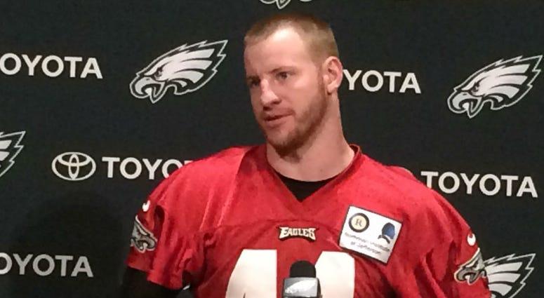 Eagles quarterback Carson Wentz