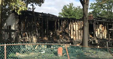 A fire at this home in West Deptford killed a 75-year-old woman