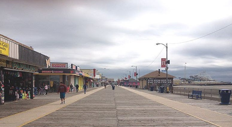 Wildwood Boardwalk.