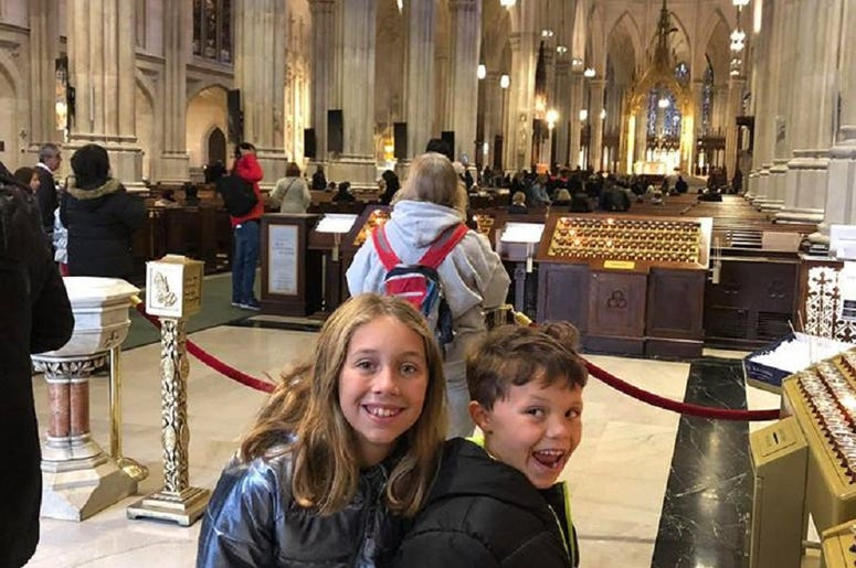 Visiting St. Patrick's Cathedral