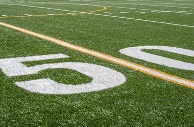 super bowl football field