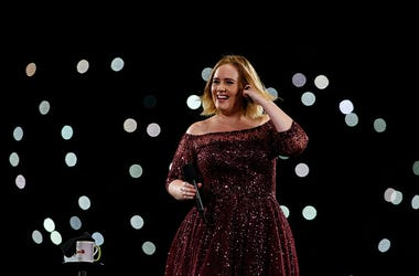 Adele performs at The Gabba on March 4, 2017 in Brisbane, Australia. (Photo by Glenn Hunt/Getty Images)