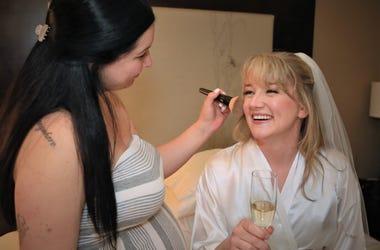 Joss Gets Make Up Done