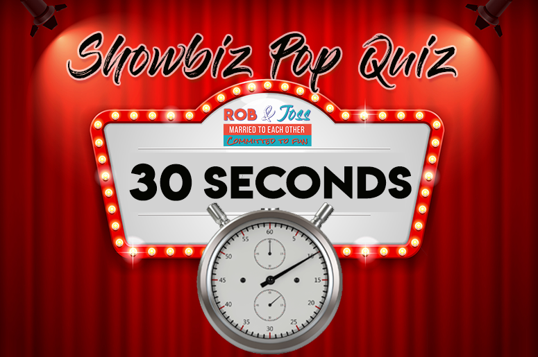 ShowBiz Pop Quiz