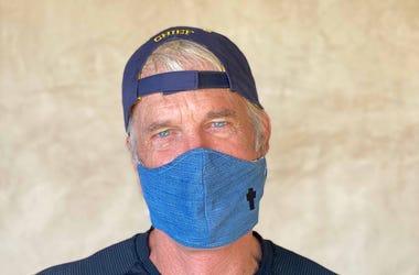 John Tesh Mask