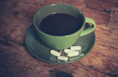 coffee aspirin