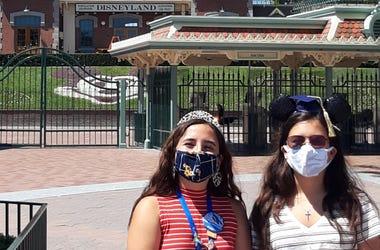 Girls at Disney