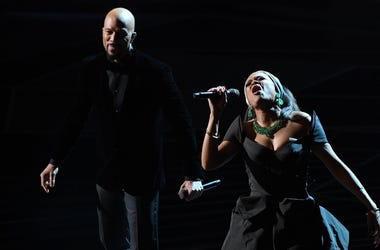 Common and Andra Day perform at Oscars 2018