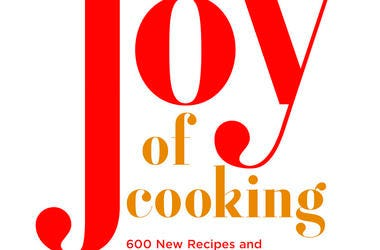 """This cover image released by Simon and Schuster shows the cover image for a new edition of """"Joy of Cooking,"""" which will be available in the fall. (Simon and Schuster via AP)"""