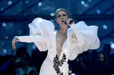 Singer Celine Dion performs during the 2017 Billboard Music Awards at T-Mobile Arena on May 21, 2017 in Las Vegas, Nevada