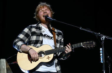 Ed Sheeran performs in concert on the opening night of his Australian tour at Optus Stadium on March 2, 2018 in Perth, Australia.