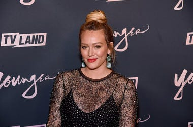 "Hilary Duff attends the ""Younger"" Season 5 Premiere Party at Cecconi's Dumbo on June 4, 2018 in Brooklyn, New York. (Photo by Jamie McCarthy/Getty Images)"