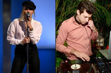 Miley Cyrus x Mark Ronson