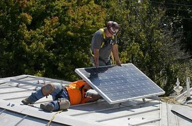 solar panel California