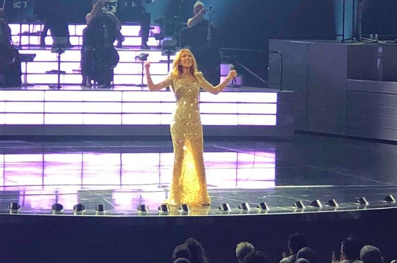 Escape to Vegas to See Celine Dion with Susan D.