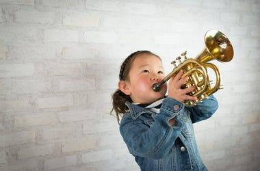 trumpet kid