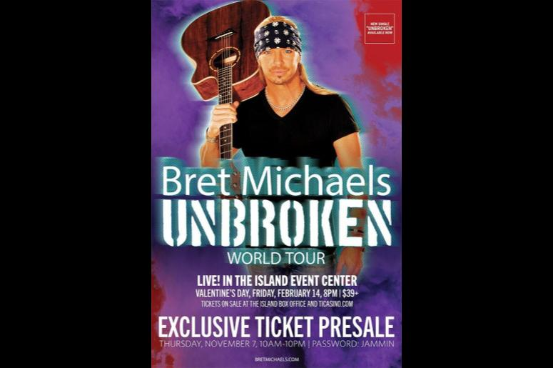 Bret Michaels Unbroken World Tour