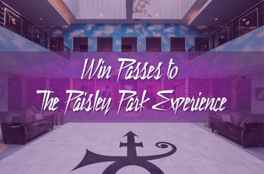 Win passes to The Paisley Park Experience