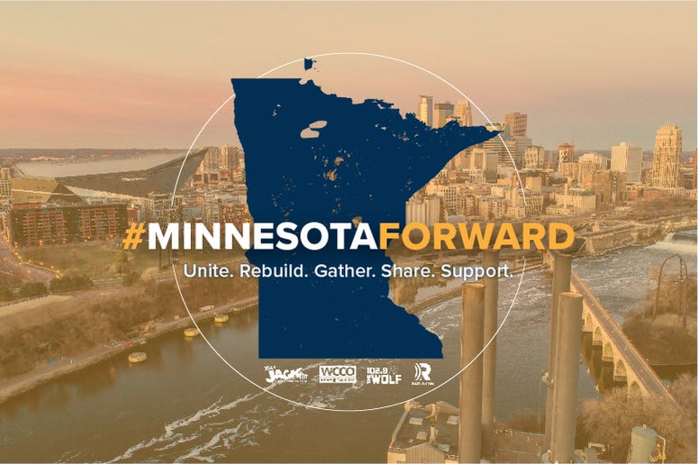 Minnesota Forward - Unite, Gather, Rebuild, Share, Support