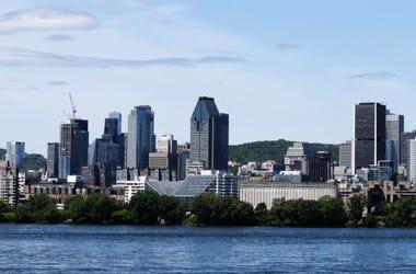 Scenic Montreal city skyline