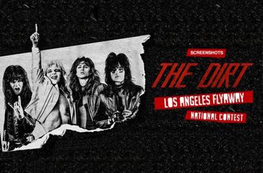 Mötley Crüe Los Angeles Flyaway - National Contest