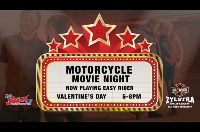 Motorcycle Movie Night