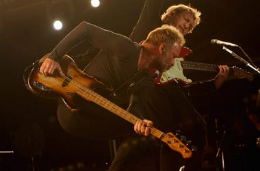The Police perform during 2008 reunion tour