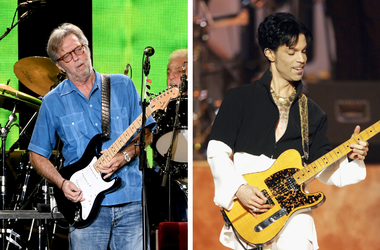 Eric Clapton and Prince