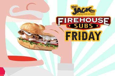 104.1 JACK FM's Firehouse Friday