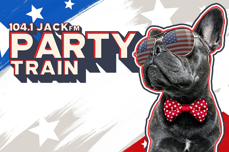 104.1 JACKfm 4th Of July Party Train