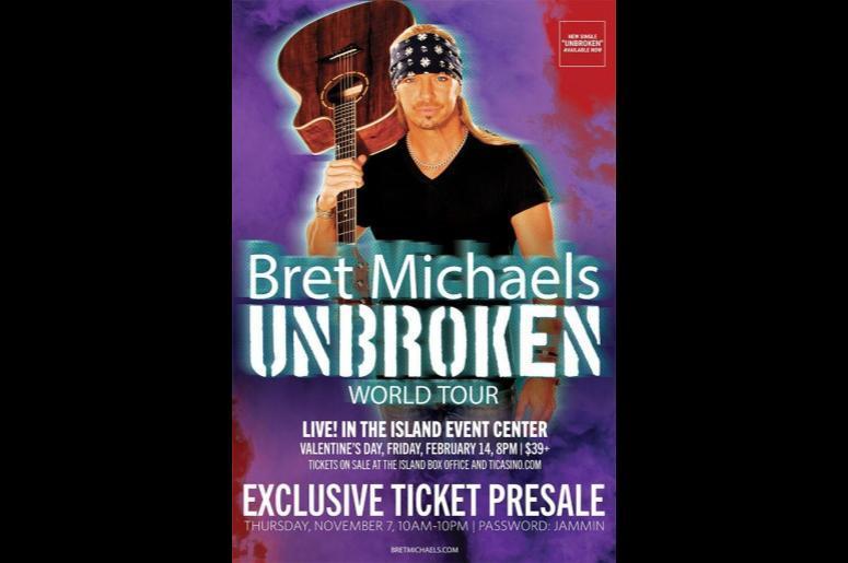 Bret Michaels Unbroken World Tour