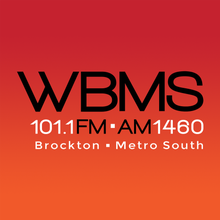 101.1 FM and AM 1460 WBMS