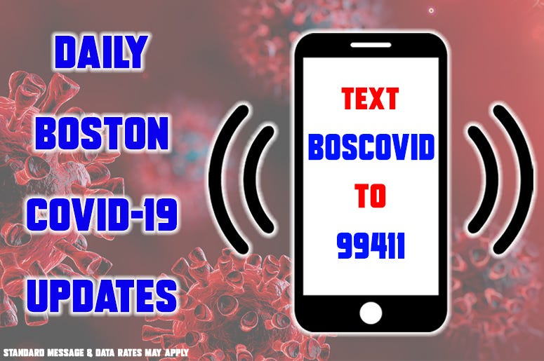 BOSCOVID Text Updates