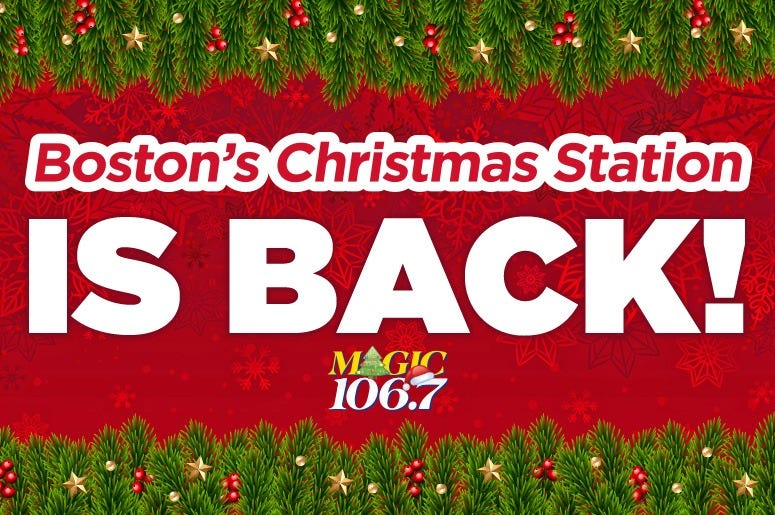 Boston's Christmas Station Is Back