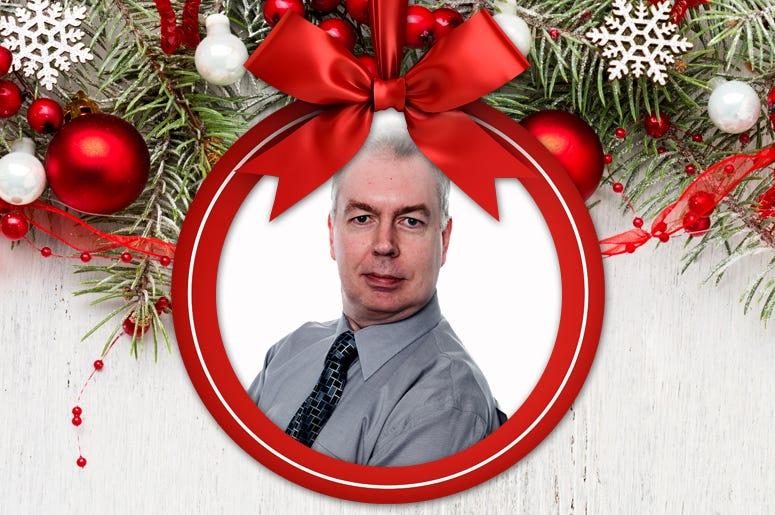 2019 Christmas Host James O'Neil