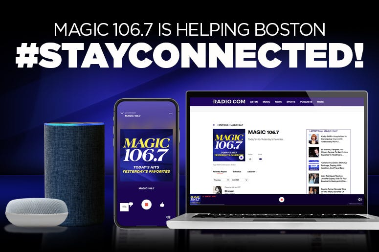 Stay Connected with MAGIC 106.7