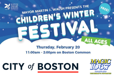 Boston Commons Winter Childrens Festival poster