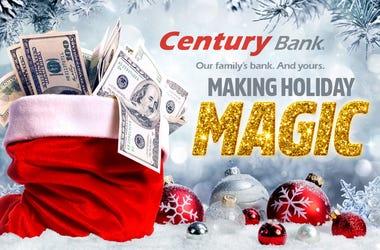 Century Bank Making Holiday MAGIC