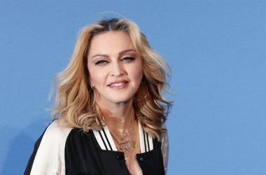 9/15/2016 - Madonna arrives for the premiere of Ron Howard's The Beatles: Eight Days A Week - The Touring Years at the Odeon Leicester Square in London.