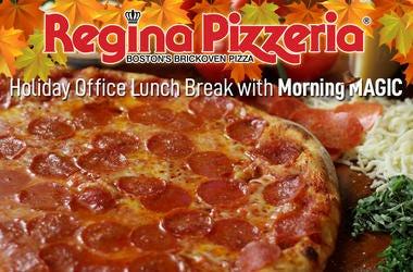 Morning MAGIC Regina Pizzeria Thanksgiving